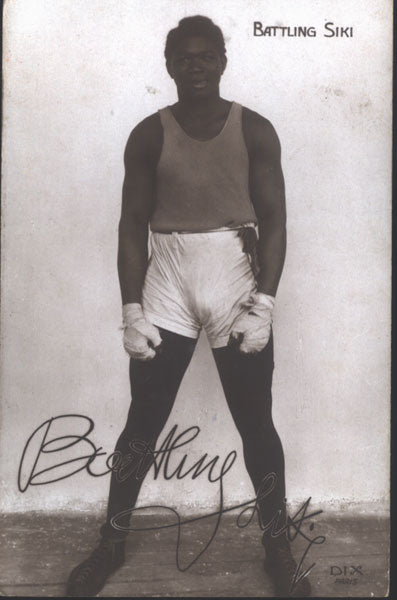 SIKI, BATTLING REAL PHOTO POSTCARD