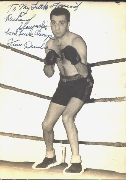 DUNDEE, VINCE SIGNED PHOTOGRAPH