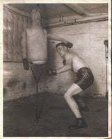 SHADE, DAVE ORIGINAL WIRE PHOTO (TRAINING FOR WALKER-1925)