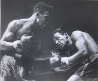 ROBINSON, SUGAR RAY-TOMMY BELL ORIGINAL WIRE PHOTO (1946-6TH ROUND)