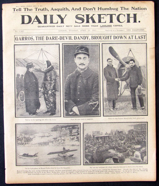 JOHNSON, JACK-JESS WILLARD DAILY SKETCH NEWSPAPER (1915-LONDON)