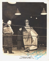 MAREK, MAX SIGNED PHOTO