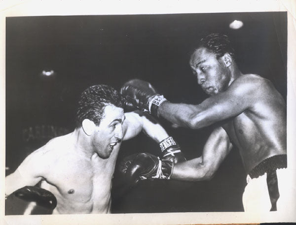 BRATTON, JOHNNY-LIVIO MINELLI WIRE PHOTO (1953)