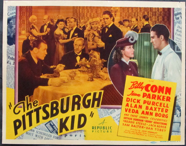 CONN, BILLY MOVIE LOBBY CARD (1940-THE PITTSBURGH KID)