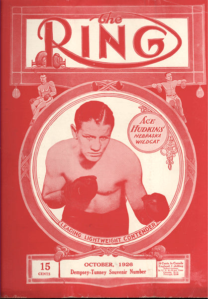 RING MAGAZINE OCTOBER 1926 (5TH YEAR)
