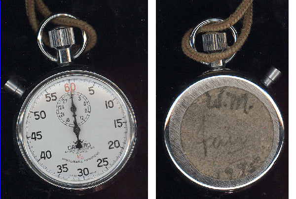 ALI, MUHAMMAD TRAINING STOP WATCH (1975-WALI MUHAMMAD COLLECTION)