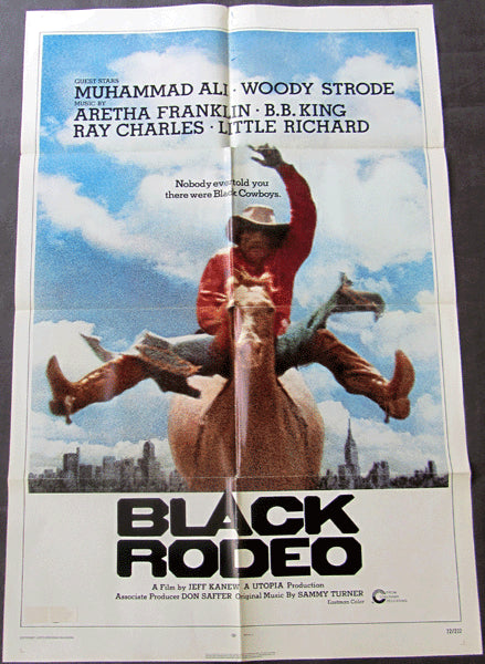 ALI, MUHAMMAD MOVIE POSTER (BLACK RODEO-1972)