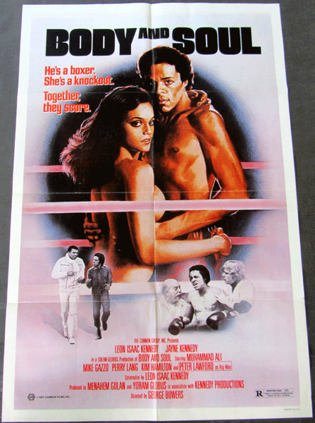 ALI, MUHAMMAD MOVIE POSTER (BODY AND SOUL-1981)