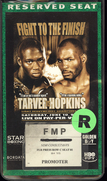 HOPKINS, BERNARD-ANTONIO TARVER CREDENTIAL (2006)
