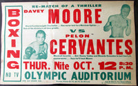MOORE, DAVEY-PELON CERVANTES ON SITE POSTER (