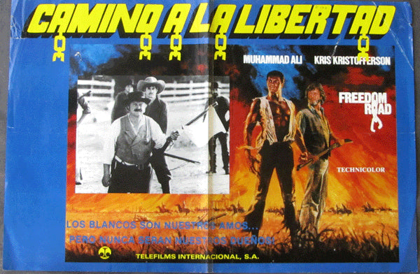ALI, MUHAMMAD MOVIE POSTER (FREEDOM ROAD-1979)