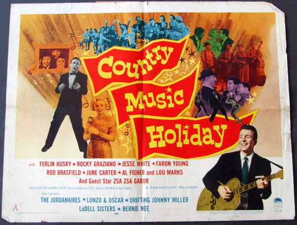 GRAZIANO, ROCKY MOVIE POSTER (COUNTRY MUSIC HOLIDAY-1958)