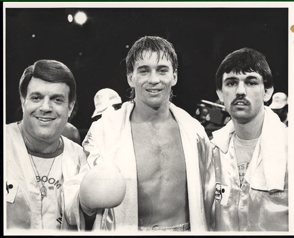 LALONDE, DONNY & TEDDY ATLAS ORIGINAL PHOTO