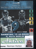 TAYLOR, JERMAIN-ARTHUR ABRAHAM CREDENTIAL (2009)