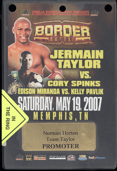 TAYLOR, JERMAIN-CORY SPINKS CREDENTIAL (2007)