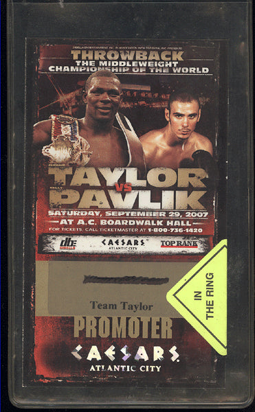 PAVLIK, KELLY-JERMAIN TAYLOR I CREDENTIAL (2007)
