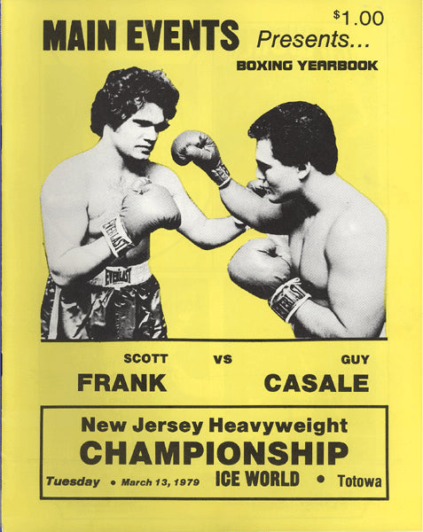 FRANK, SCOTT-GUY CASALE OFFICIAL PROGRAM (1979)