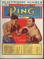 RING MAGAZINE JULY 1939