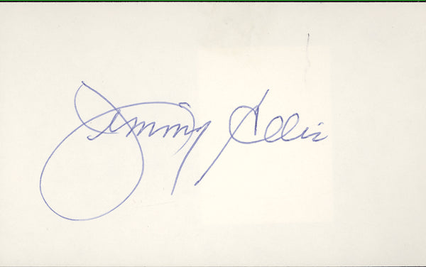 ELLIS, JIMMY INK SIGNATURE