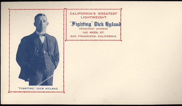 HYLAND, FIGHTING DICK ENVELOPE