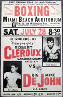 DEJOHN, MIKE-ROBERT CLEROUX ON SITE POSTER (1962)