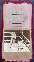 DEMPSEY, JACK-GENE TUNNEY II MUTASCOPE SIGN (1927-LONG COUNT FIGHT)