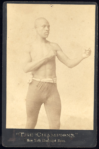 "CRAIG, FRANK ""HARLEM COFFEE COOLER"" CABINET CARD"