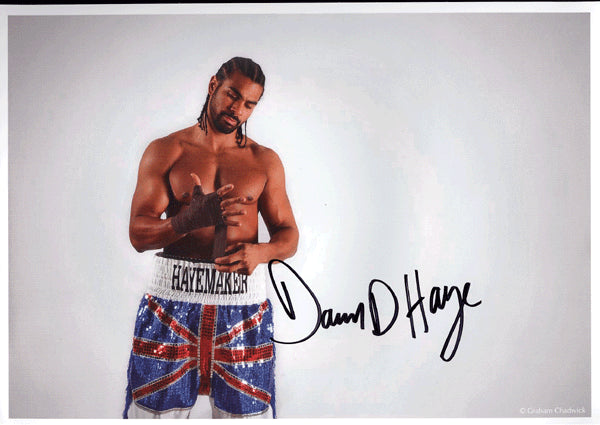 HAYE, DAVID SIGNED PHOTO