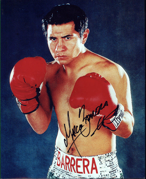 BARRERA, MARCO ANTONIO SIGNED PHOTO