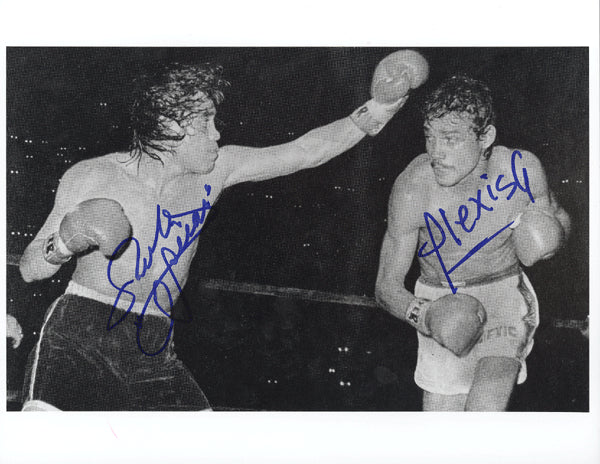 ARGUELLO, ALEXIS & RUBEN OLIVARES SIGNED PHOTO (SIGNED BY BOTH)