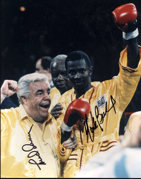 BRELAND, MARK & LOU DUVA SIGNED PHOTO
