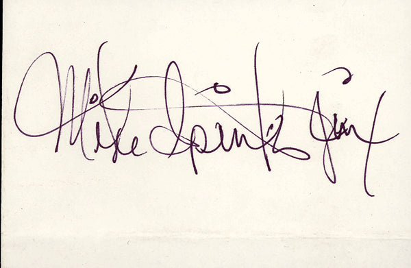 SPINKS, MICHAEL INK SIGNATURE