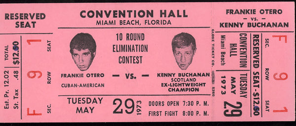 BUCHANAN, KEN-FRANKIE OTERO FULL TICKET (1973)