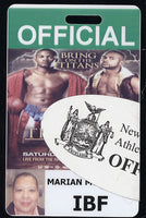 JONES, JR., ROY-FELIX TRINIDAD CREDENTIAL (2008)