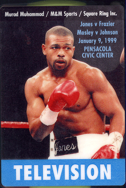 JONES, JR., ROY-RICKY FRAZIER & SHANE MOSLEY-GOLDEN JOHNSON CREDENTIAL (1999)