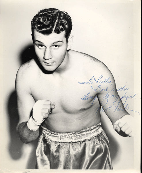PENDER, PAUL VINTAGE SIGNED PHOTO