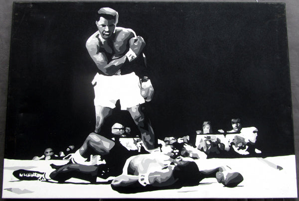 ALI, MUHAMMAD-SONNY LISTON II ORIGINAL ARTWORK