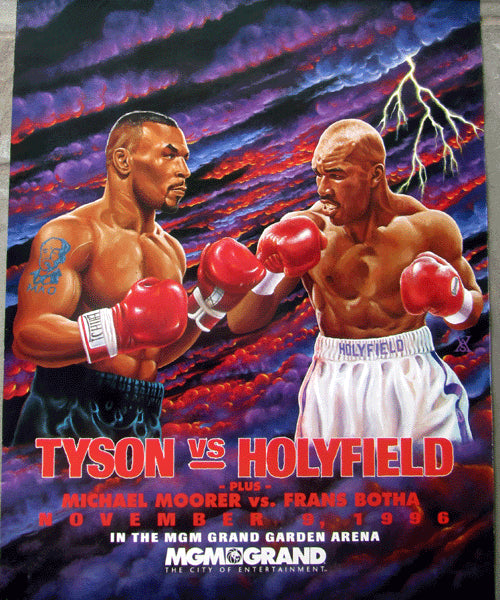 HOLYFIELD, EVANDER-MIKE TYSON I ON SITE POSTER (1996)
