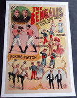 BENGALIS CIRCUS POSTER (EARLY 20TH CENTURY BY LOUIS GALICE)