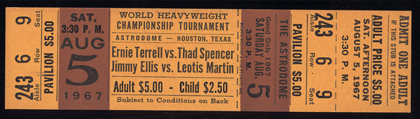 TERRELL, ERNIE-THAD SPENCER & JIMMY ELLIS-LEOTIS MARTIN FULL TICKET (1967)