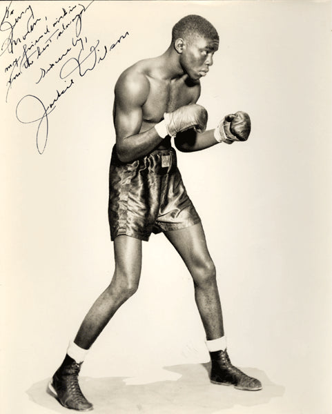 WILSON, JACKIE SIGNED PHOTO
