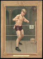 BROWN, KNOCKOUT T-3 TURKEY RED CARD (1911)