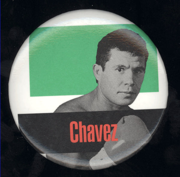 CHAVEZ, JULIO CESAR SOUVENIR PIN (1996-DE LA HOYA FIGHT)