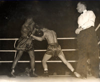 VALDES, NINO-DICK RICHARDSON WIRE PHOTO (1956-*TH ROUND)