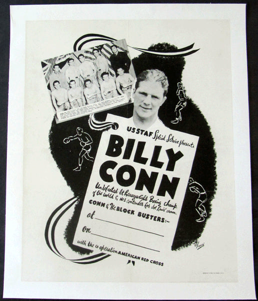 CONN, BILLY & THE BLOCKBUSTERS ORIGINAL POSTER (CIRCA 1943)