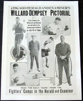 DEMPSEY, JACK-JESS WILLARD PRE FIGHT POSTER (1919)