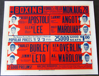 APOSTOLI, FRED-GLEN LEE & BURLEY-LETO & ANGOTT-MARGQUART ON SITE POSTER (1939)