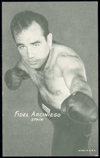 ARCINIEGO, FIDEL EXHIBIT CARD