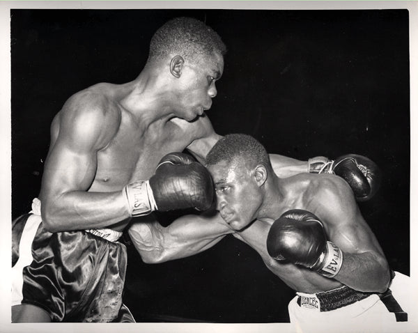 CARTER, JIMMY-IKE WILLIAMS WIRE PHOTO (1951)