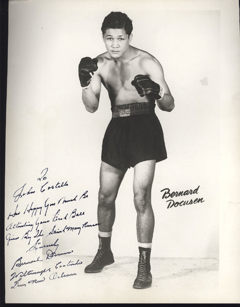 DOCUSEN, BERNARD SIGNED PHOTO